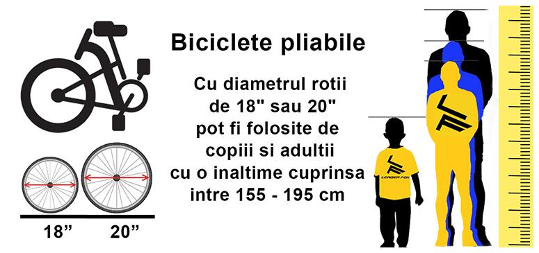 cum aleg o bicicleta pliabila