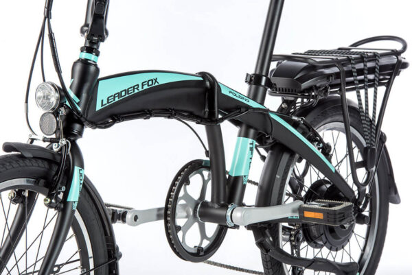 Bicicleta pliabila electrica Lader Fox Tifton