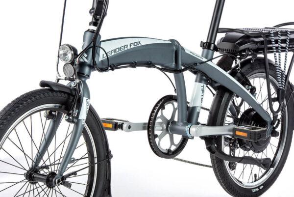 Leader Fox Tifton - bicicleta electrica pliabila