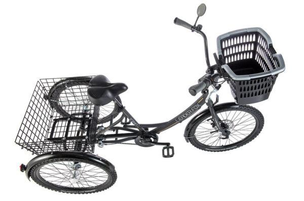 Tricicleta pentru adulti Leader Fox Bormio - negru