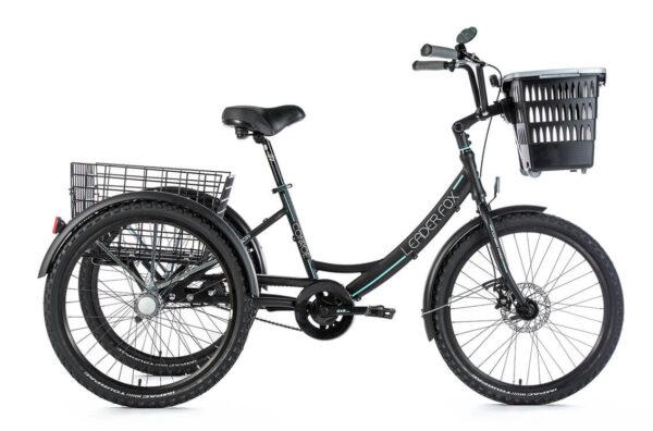 Tricicleta adulti Leader Fox Conroe - negru