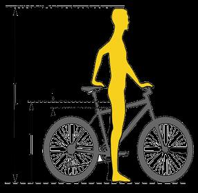 Cum aleg marimea bicicletei